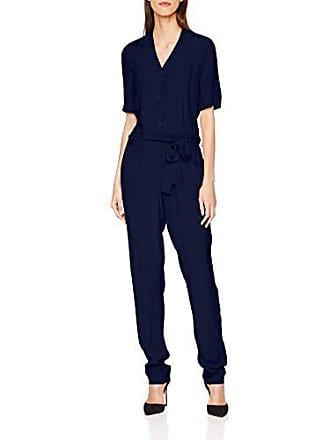 Mont Color Bleu St Navy Contrasting 42 taille Jumpsuit Femme Fabricant Le Combinaison Michel aqRwdR6