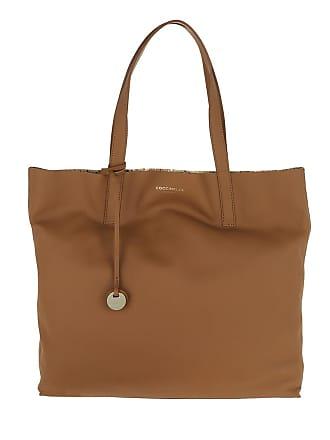platino Grace Shoulder Shopper Bag Cognac Cuir Coccinelle c54Aq3RjL