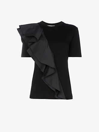 Neck Crew Adeam shirt T Ruffled 4p5Pwq1