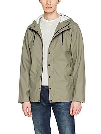 Manteau Rain Homme Imperméable Look dark 34 Khaki Green New qIw5En44