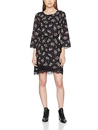 micro Fabricante 40 Jo talla 44 Liu V9092 Fleurs Mujer Vestido Del Black W18040t9052 Para w7FxnFzdqX