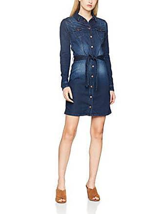 Jeans Used Nicole Azul dark small Para X London Cb6 Pl952018 Mujer Vestido Pepe d8q6wnd