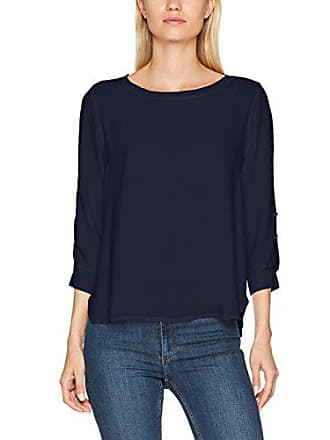 Azul blu 38 Para Blouse Button Tom Tail With Blusa Details navy reale 6593 Mujer YzR8w