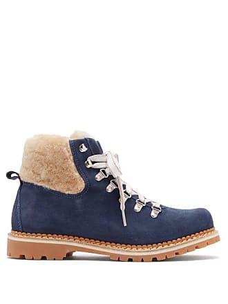 Montelliana Navy Suede Cream BootsWomens Camelia xoedCB