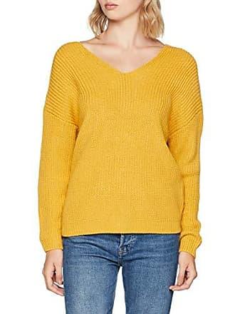 dark New Jaune Twist 40 Pull Jumper Femme Yellow Look Back 0Oxq06