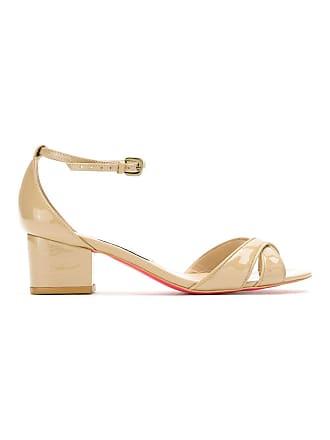 Sandals Neutres Leather Zeferino Patent Tons wqTZOE