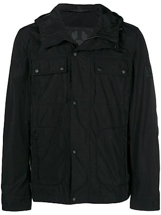 Belstaff Zipped Belstaff Noir Jacket Noir Jacket Zipped Hooded Hooded 6Iq1F4xw6