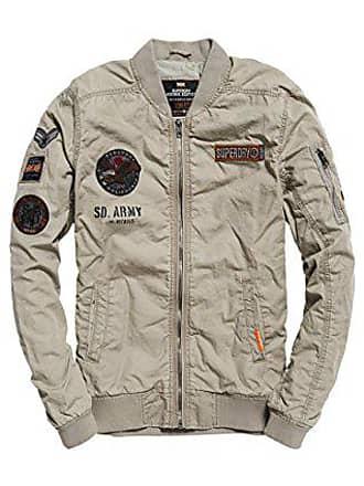 X Grey Bomber Veste Homme Kog ash Rookiedutypatchbomber Gris Superdry vZx8YF