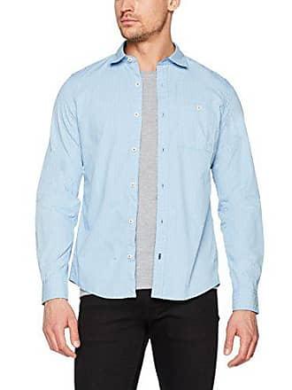 Para S Azul M 28712214162 oliver 53a8 blue Hombre Aop Casual Camisa qPrIwP
