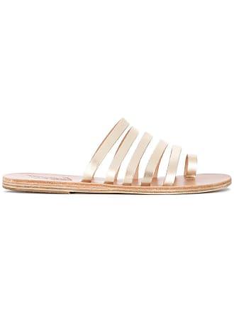 Sandals Sandales Ancient Ancient NikiMétallisé Greek Greek Sandals Y6ybgvf7I