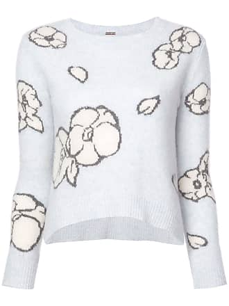 Wit Sweater intarsia Adam Lippes Floral wxUYqXa