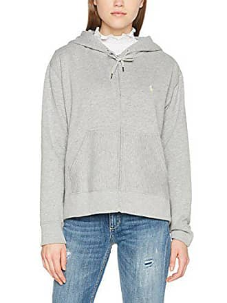 Fit andover Gris Ralph Mujer knit Para long Lauren Hoodie 2wcr Large Sudadera no Heather Sleeve Fz Polo 7nxFSXOn