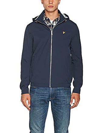 Shell Lined Scott Jersey Bleu Lyle Homme Soft Blouson Marine Jacket Medium amp; wEq6a