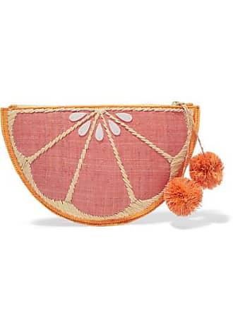Pink Kayu Stroh Geflochtener Pomelo Aus Beutel AXqv7wZ
