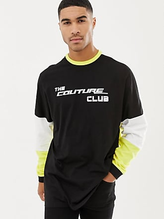 Couture Camiseta Carrera De Logo Con Larga Manga The Club UgdHwUq