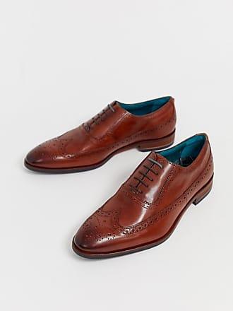 Tostado Baker Asonce Oxford Ted Cuero Zapatos De CSxXw8q4q