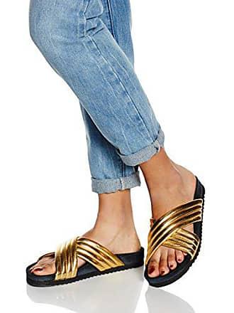 Ouvert Footwear 39 120012 Or P1 Femme Doré Sandales Bout aTCIaqx6w