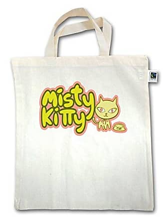 KatzenMisty Kitty Unisize Shirtracer Xt500 Natural Jutebeutel Henkel Kurzer hQrtCsd