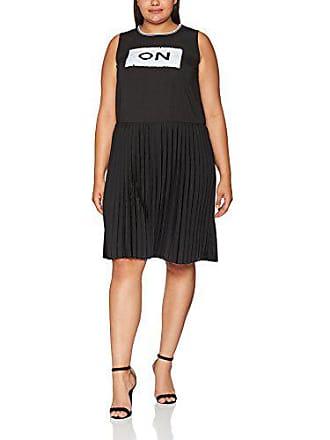 schwarz Vestido De Plissee Negro Mit Untold Studio Kleid Para 10 Mujer 44 Fiesta qxIX6BUvw