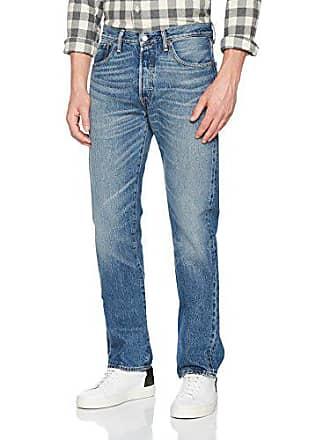 marzo per 501 2487 36w Jeans Fit 30l uomo blu Levi's Original IWAwTcq00