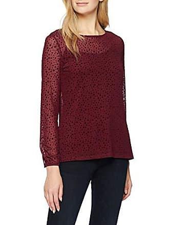 À Rouge T Manches 118cc1k028 By Esprit bordeaux Longues Red Medium Edc 600 Femme shirt xHwzZXnH4
