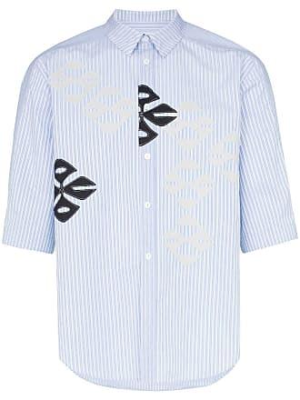 Shirt Kiko Kostadinov Gestreept Kostadinov Gestreept Blauw Kiko xqtnE4TX