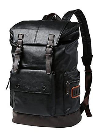 Große Bergsteigen Computer Baafg Rucksack onesize Leder Reisetasche Taschen Sport Klettern Kapazität black Outdoor Männer XgHvSxgq