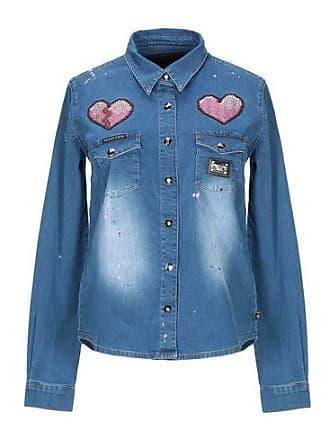 Moda Plein Camisas Philipp Vaqueras Vaquera Fa7wfO5q