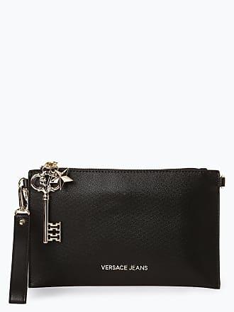 Damen Versace Clutch Jeans Schwarz Couture 1XqFwZ