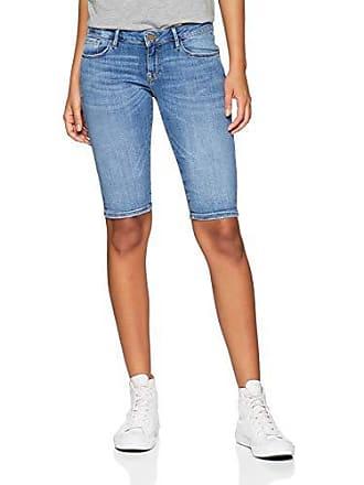 Cross Para W29 Blue Azul mid Jeans Del Cortos 037 Pantalones Fabricante 29 Mujer talla Amy rTrIwqS