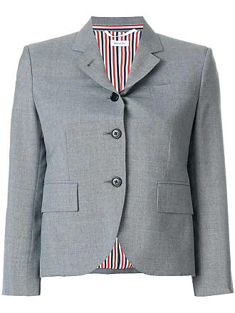Uniform Gris Classic In Coat Single Thom Sport Weave Plain Browne School Breasted TWqngA86w