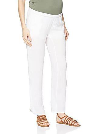 Pants 40 Femme White White Mama Medium Mlmaple taille maternité Licious Bright Pantalons Woven Blanc bright Fabricant 7w7AntWT