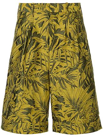 Mit Gelb Tropischem Cerruti Bermuda shorts Print g8wq4pEx