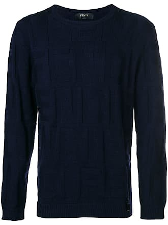 Pistol Logo Blu Sweater Wqtqgh Knitted Colore Di Fendi pZwqxqU4