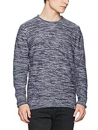 Sweater Knit Punto Manga Jersey Hombres Randall Xxl Pullover De Larga Azul Jerséi Indicode wS0z6Ow