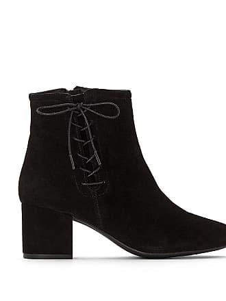 Redoute Cuir De La Boots Croûte Vachette Collections Noir fSXSwxd
