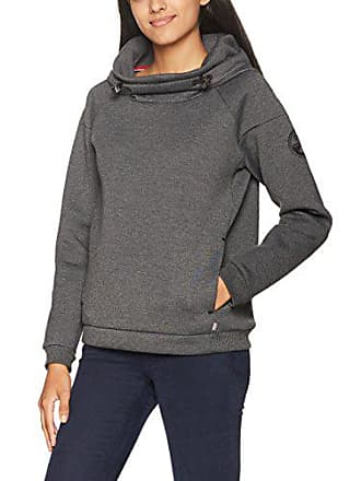 Bear Femme dark Grey Napapijri Hood Mel Shirt Gris Sweat Wom 197 dwgqXC