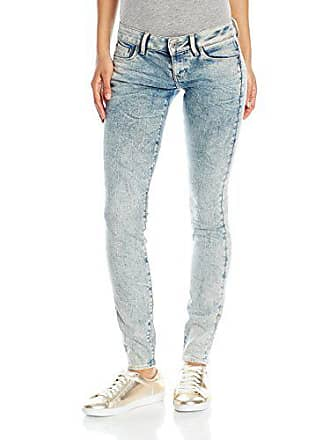 para Low mujer Raw G Rise 3301 en Aged Superstretch Fit Light Jean Star Skinny Tobin EqRFxX
