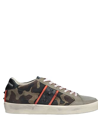 Basses Chaussures amp; Crown Tennis Sneakers Leather UTq8w00c