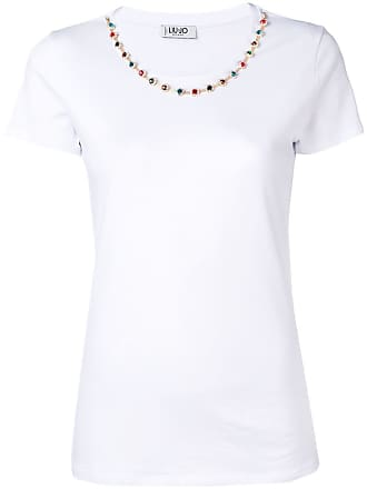 ShineBlanc T Black shirt Liu Jo Omnw8yvN0P