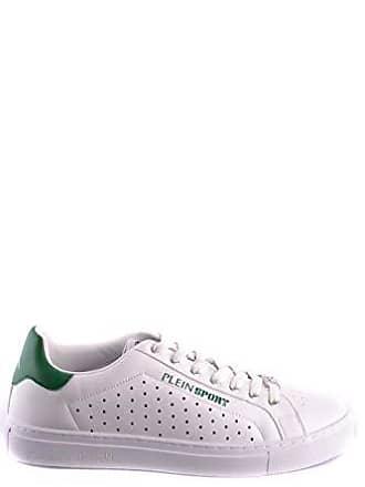 Sport Plein Herren Weiss Sneakers Msc0948sxv001n05 Leder Y88gdw