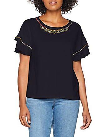 3304 Azul 805 Camiseta 14 Para Placed Mujer Steel Blue 32 40 Pr oliver dark S 58d0 Eq8wxXIUn