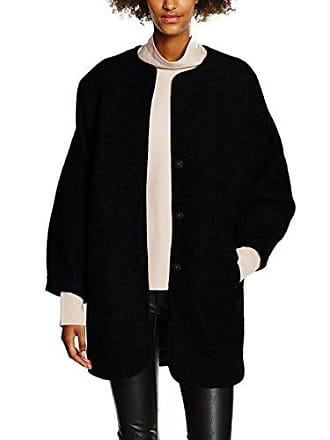 Moda Jacket black Abrigo 34 Vmfrosty Vero Negro Mujer Wool dOqwRUFUx