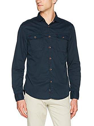 Shirt Washed 3393 Man Eclipse For total Blue 42 Timezone Boland RCSvnxwP