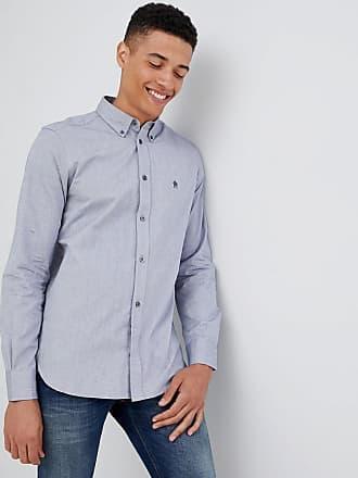 Oxford French Con Connection De Camisa Logo Abotonada APEPw