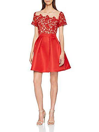 Fiesta Para Rojo Prom Vestido Crochet Red 40 001 Mujer Little De Mistress Dress 6nq0CfU