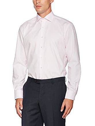 Eterna 50 Kariert Kent Classic kragen Rot 40 Modern Fit Langarm Hombre Camisa Para Mit Rojo rxCHrq