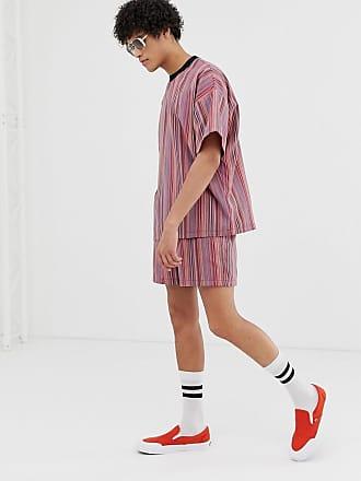design Pantaloncini righe piccole a con Asos wExqE4aZ