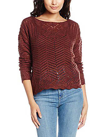 Blouse Rouge Chocolate decadent Ls Pull Moda Vmpenelope Femme Vero T TPtqt0