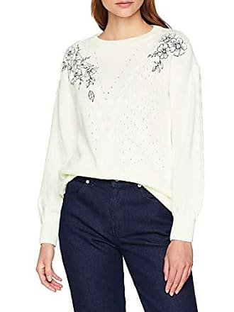 ivory Fabricante Perkins Suéter Dorothy Mujer Para Cable talla 36 Blanco Del Jumper 8 OZwdqqP40